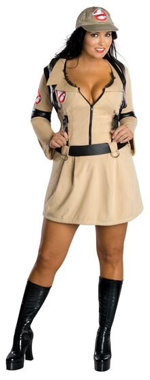 Sexy Ghostbusters Plus Size Costume