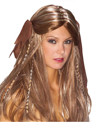 Pirate Wench Costume Wig