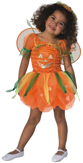 Pumpkin Pie Toddler Fairy Costume