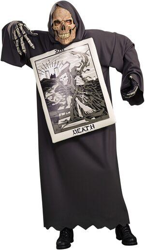 Tarot Death Scary Adult Costume