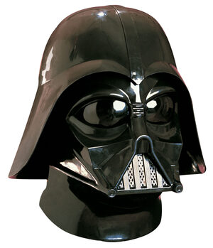 Deluxe Darth Vader Two Piece Full Star Wars Mask