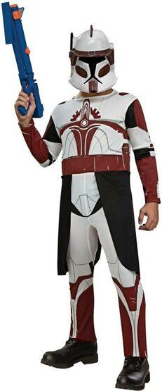 Kids Commander Fox Clone Trooper Costume