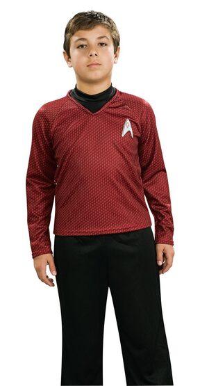 Star Trek Red Deluxe Kids Costume
