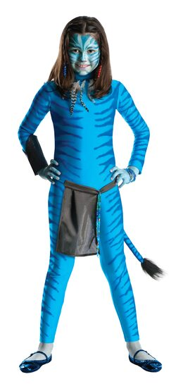 Girls Neytiri Avatar Kids Costume