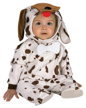 Infant Plush Puppy Baby Costume