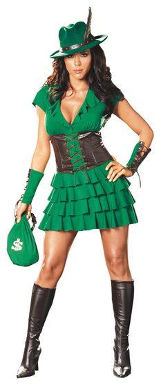 Womens Robyn da Hood Sexy Costume