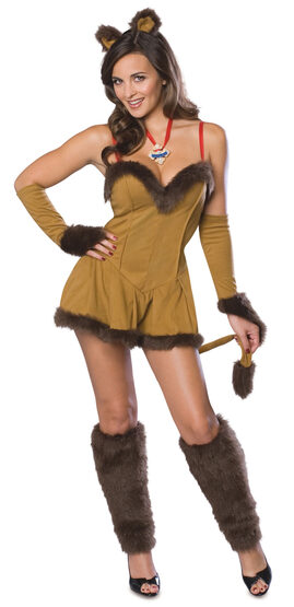 Wizard of Oz Cowardly Lion Sexy Costume