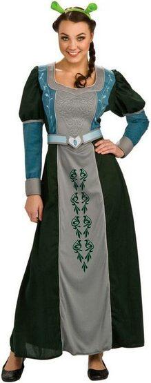 Womens Adult Princess Fiona Costume