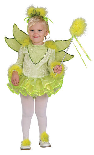 Girls Toddler Tinkerbell Fairy Costume