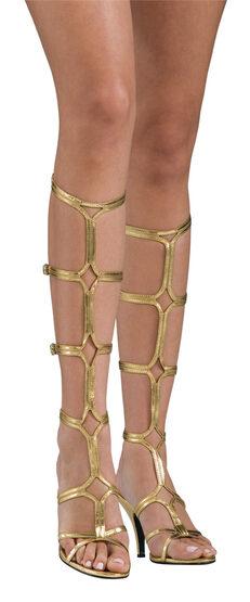 Womens Roman Greek Goddess Sandals