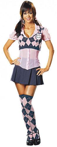 Etiquette Sexy School Girl Costume