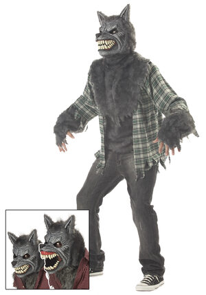 Full Moon Madness Werewolf Adult Costume