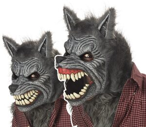 Werewolf Ani-Motion Mask