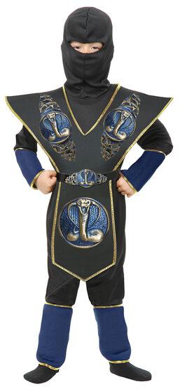 Cobra Shield Ninja Warrior Kids Costume