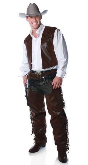 Adult Mens Cowboy Chaps Costume