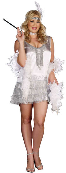 Sexy Flap Happy Flapper Plus Size Costume