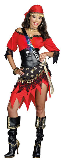 Sexy Rum Punch Pirate Wench Costume