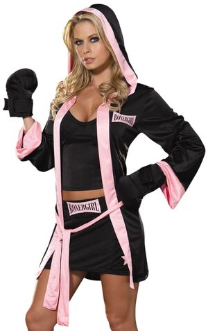Boxer Girl Sexy Costume