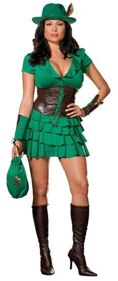 Sexy Robyn da Hood Plus Size Costume