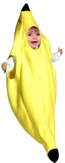 Baby Banana Bunting Costume