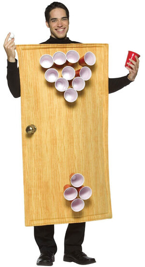 Beer Pong Funny Adult Costume