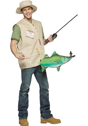 Mens Catch of the Day Funny Adult Costume