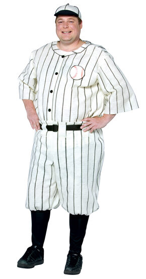 20s Baseball Player Plus Size Costume