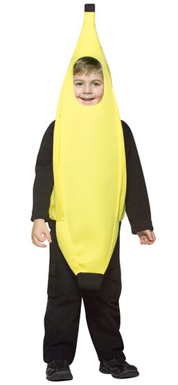 Lightweight Banana Kids Costume