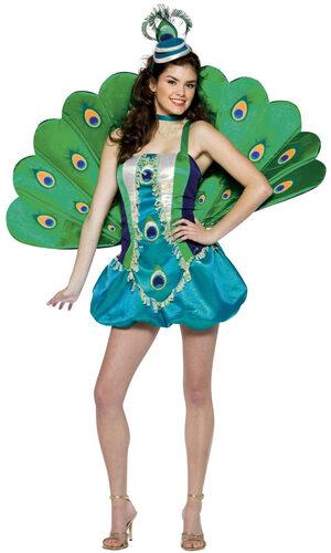 Womens Peacock Sexy Costume