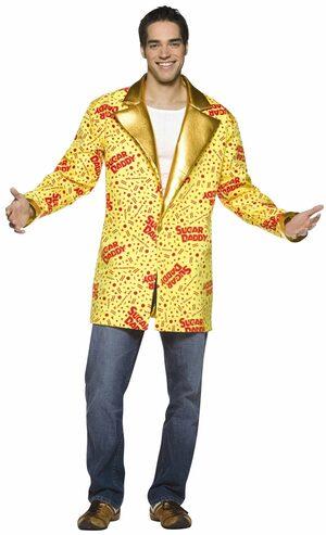 Sugar Daddy Jacket Adult Costume