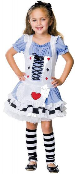 Leg Avenue Alice in Wonderland Kids Costume