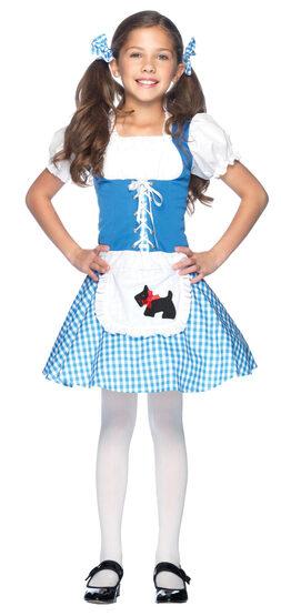Darling Dorothy Kids Costume