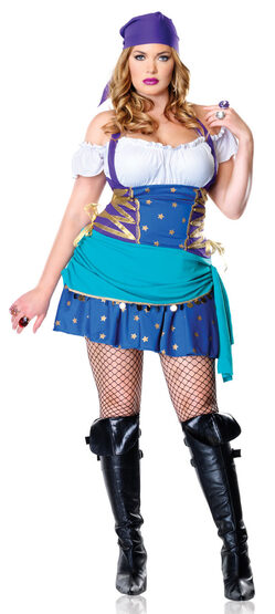 Gypsy Princess Plus Size Costume
