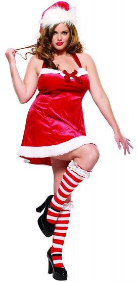 Santas Helper Sexy Plus Size Costume