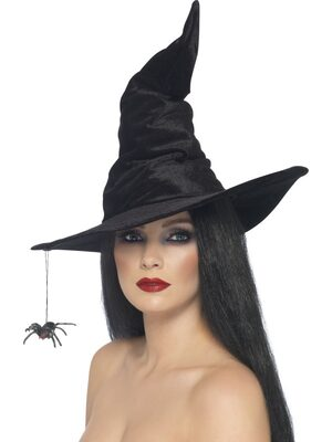 Witch Hat with Spider