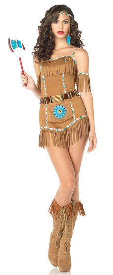Sexy Tribal Goddess Indian Costume