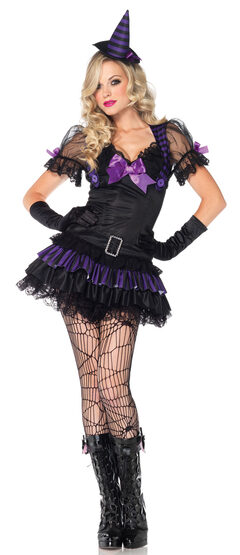Sexy Black Magic Witch Costume