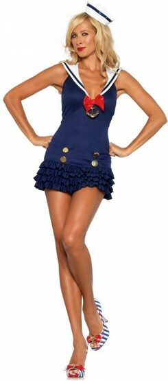 Sweetheart Sexy Sailor Costume