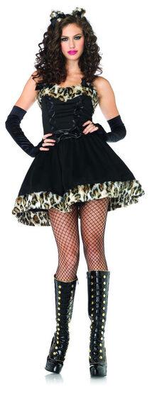 Sexy Frisky Feline Cat Costume