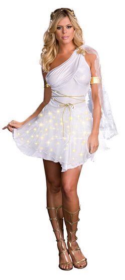 Lightup Sexy Glowing Goddess Costume