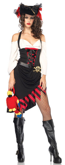 Sexy Saucy Pirate Wench Costume
