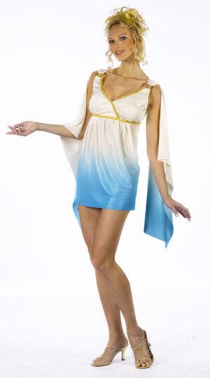 Womens Sexy Greek Goddess Costume