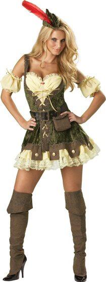 Racy Robin Hood Sexy Costume
