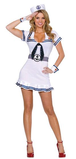 Cruise Cutie Sexy Sailor Costume