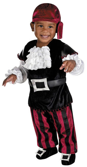 Puny Pirate Baby Costume