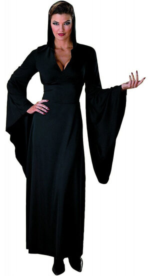 Womens Gothic Hooded Robe Adult Costume
