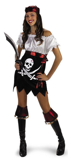 Teen Glam Pirate Costume