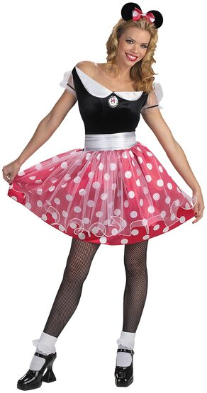 Disney Minnie Mouse Deluxe Adult Costume