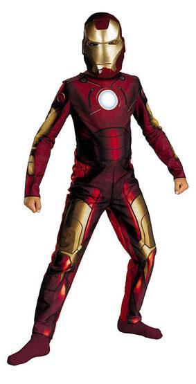 Iron Man Kids Costume