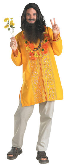 Adult Deluxe Love Guru Hippie Costume